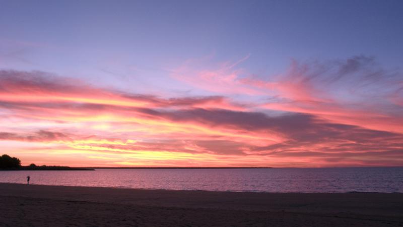 vanilla sky sunset in mindil beach