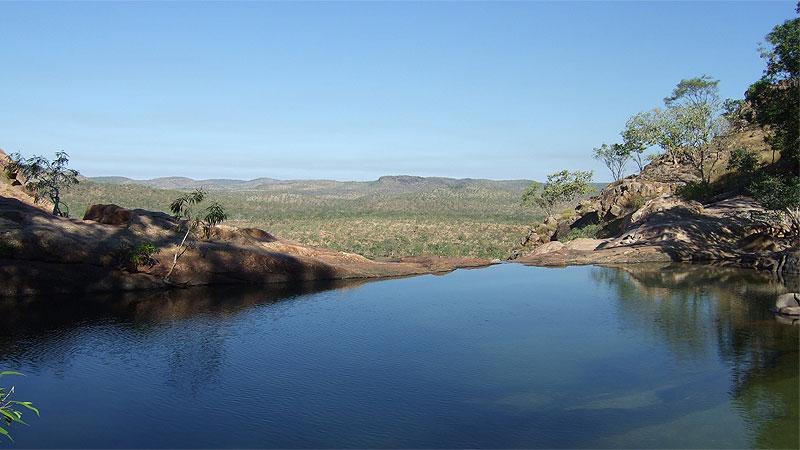 Gunlom Falls plunge pool