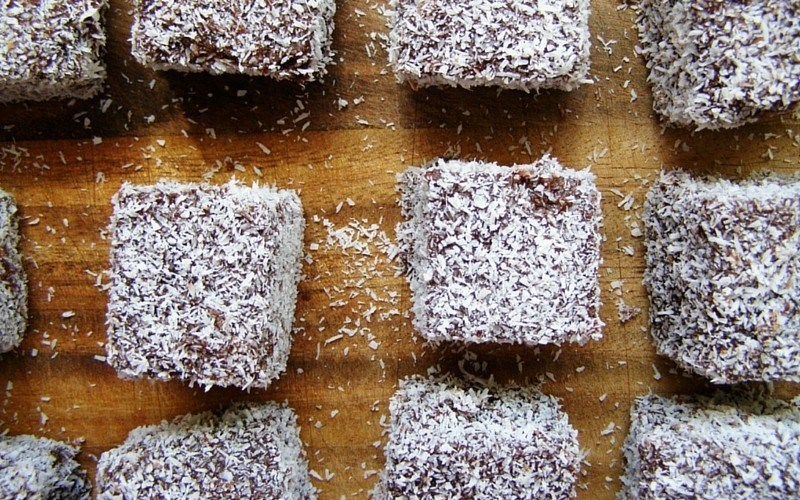 Bow down to the humble lamington. Image c/o Shelley Brunt, Flickr