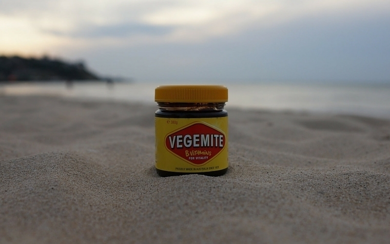 Take your Vegemite everywhere you go. Even the beach. Image c/o ant-o-rama, Flickr