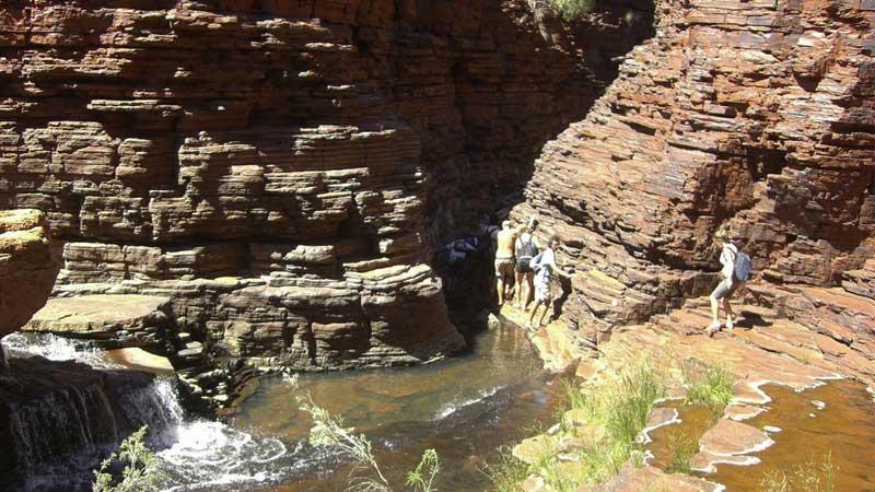 Australian-adventures,-the-spider-walk-in-Karijini-National-Park---Pat-Scullion