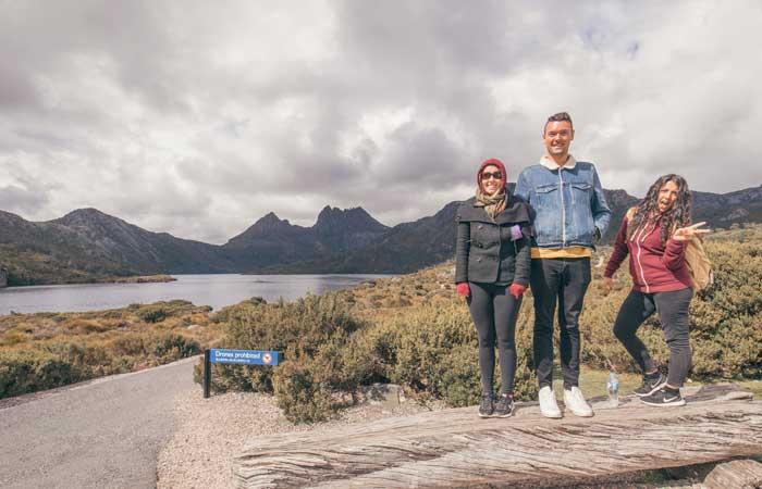 Tasmania Lake St Clair Dove Lake Cradle Mountain walk - Adventure Tours
