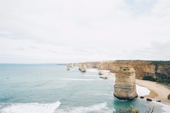 the Twelves Apostles in Victoria