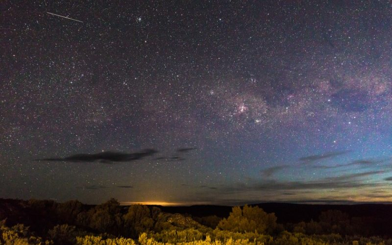 Tasmania's Central Plateau at night
