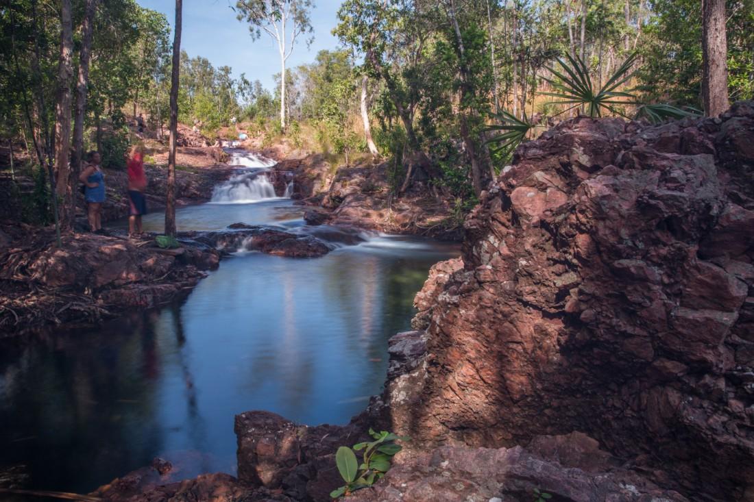 Beautiful swimming hole in Australia