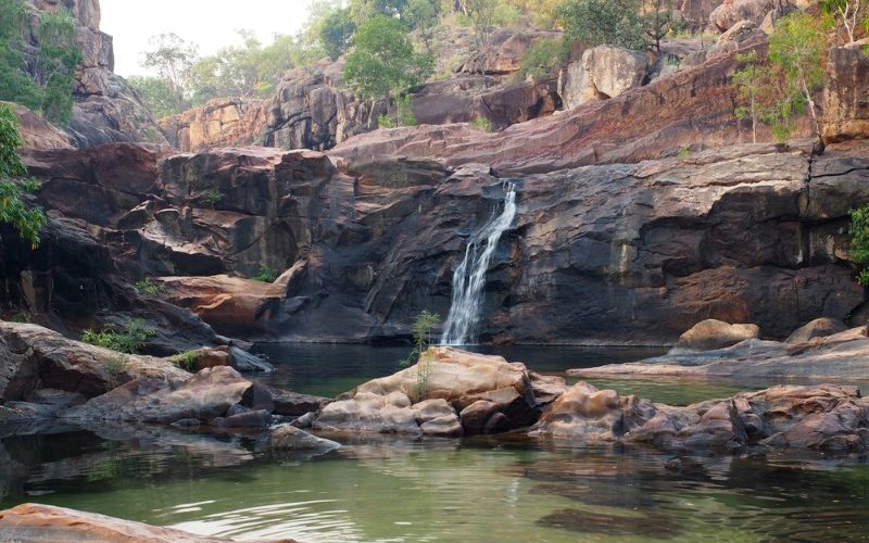Waterfalls in the Top End Australia
