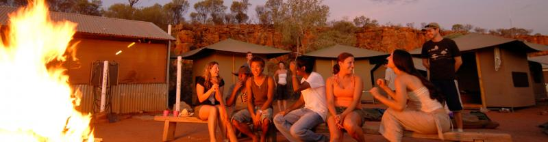 Our Services Kings Canyon Campfire Northern Territory