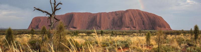 Uluru in the Australian Northern Territory