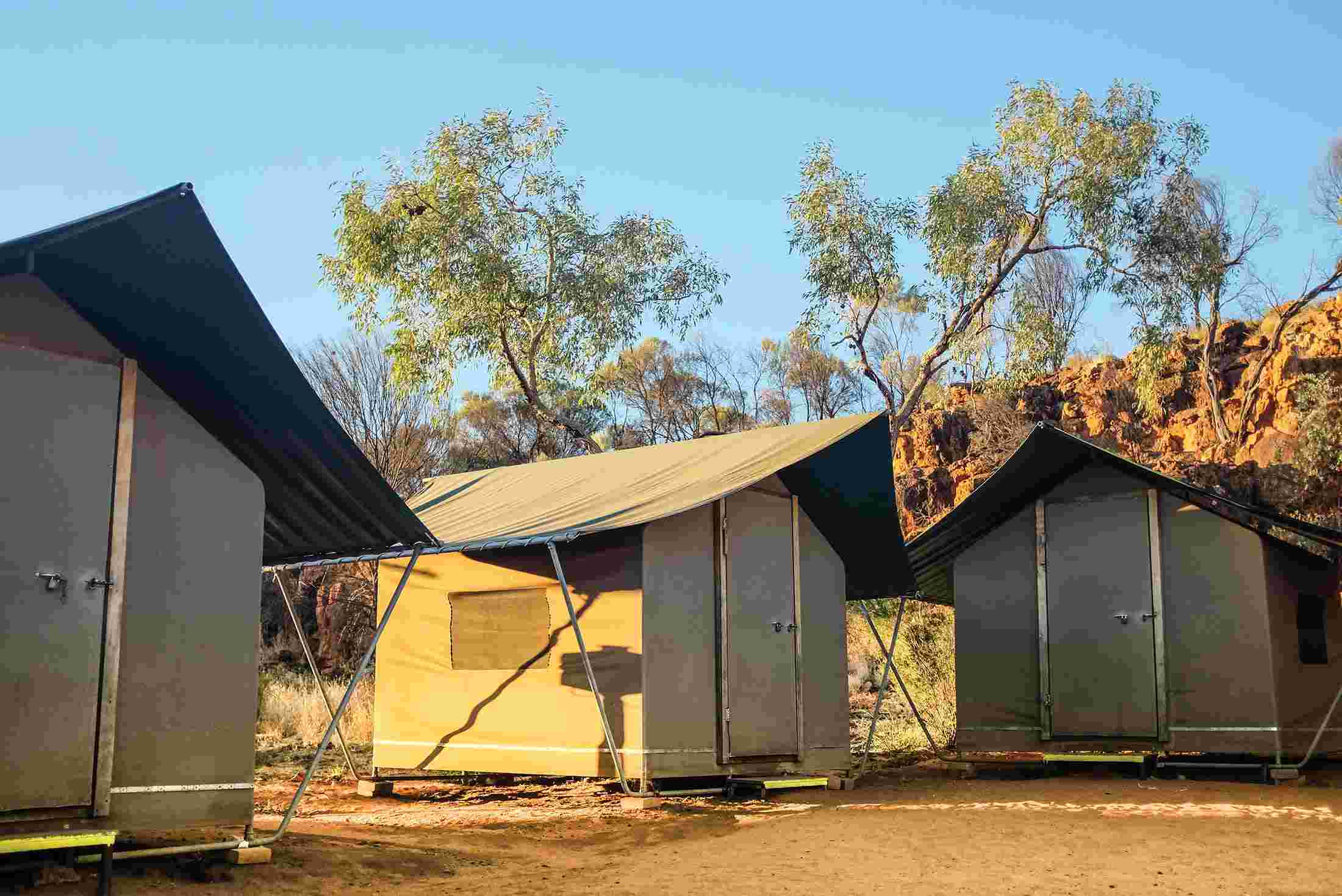 Basix accommodation in Kings Canyon, Northern Territory