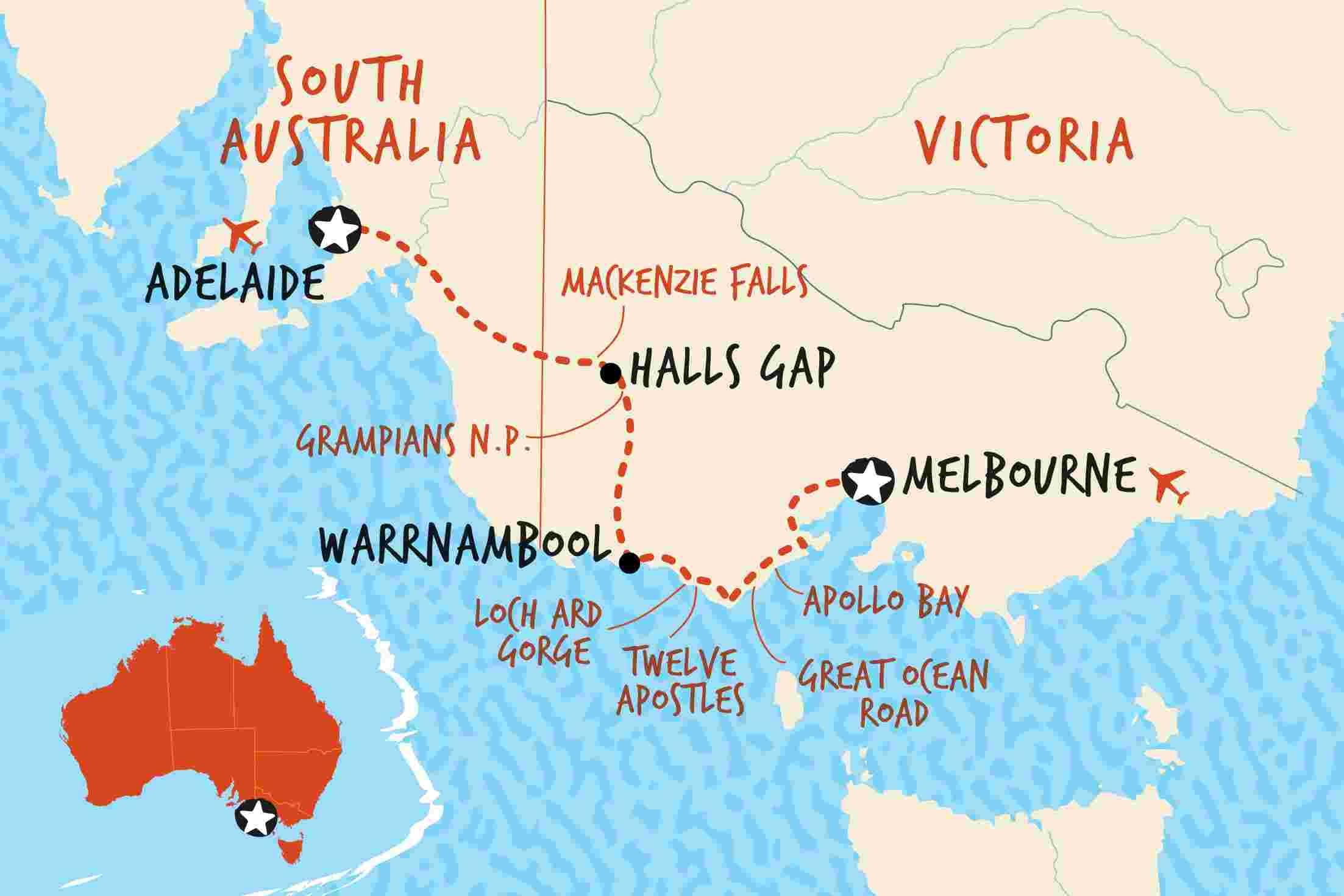 Adventure Tours Australia Adelaide To Alice Springs