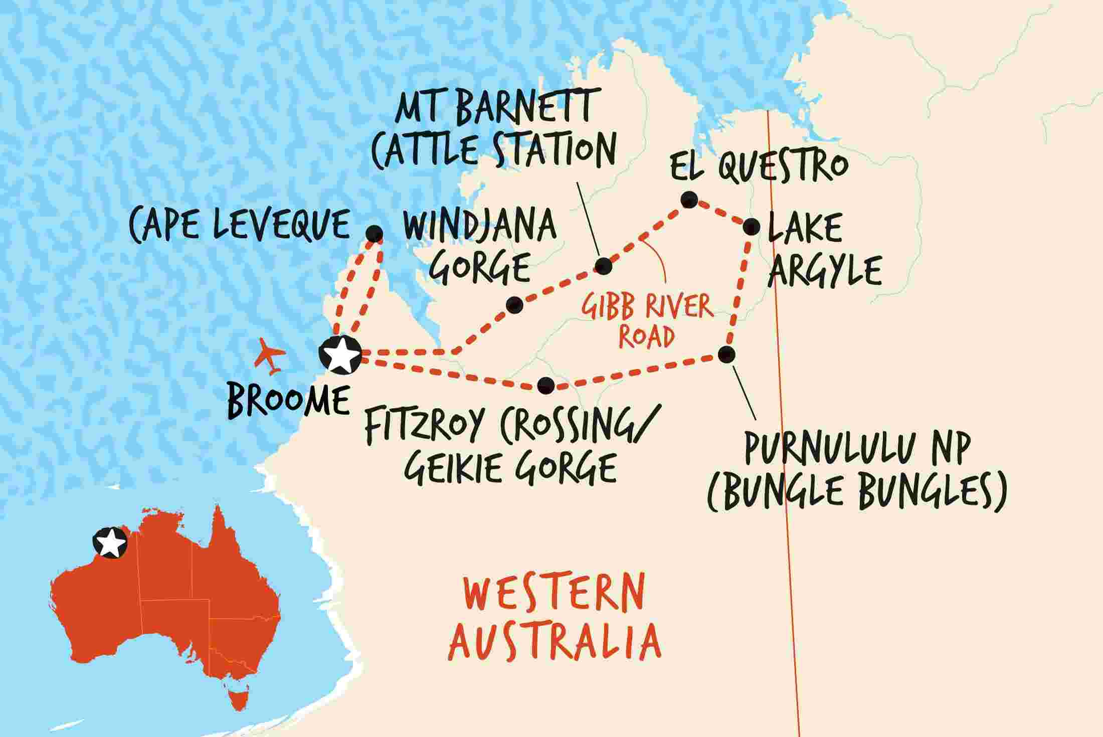 The Great Kimberley Overland Original Overview The