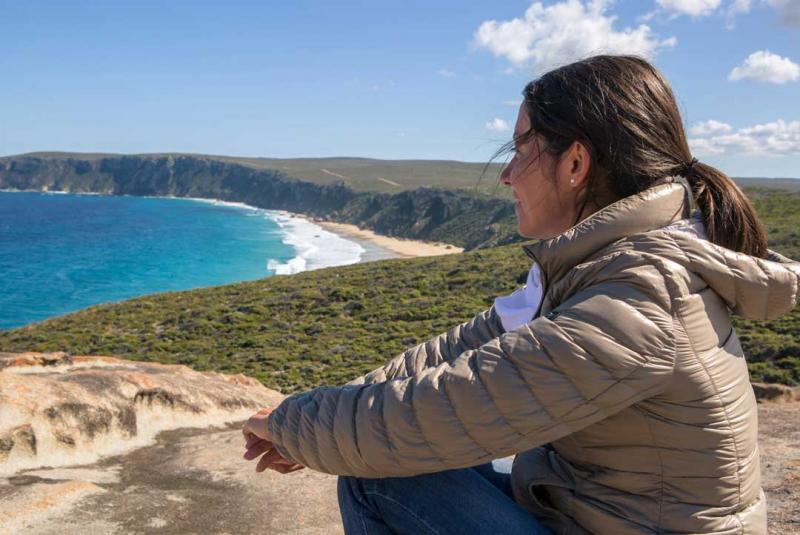 Soak in the spectacular scenery and views on Kangaroo Island