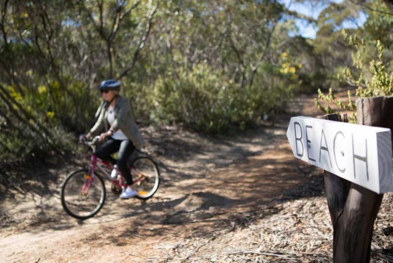 Ride a bike around Kangaroo Island