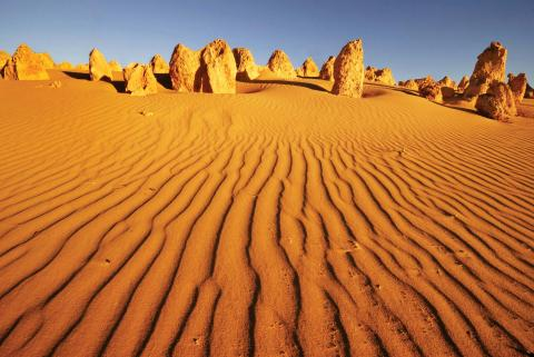 The Pinnacles in the Western Australian Outback