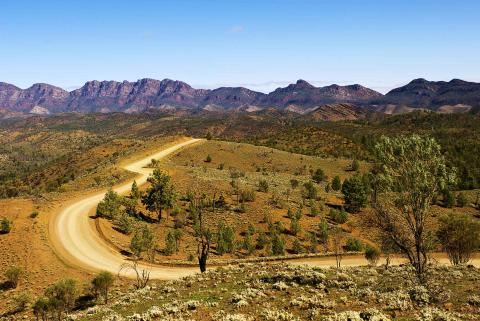 Flinders Ranges in the South Australian Outback