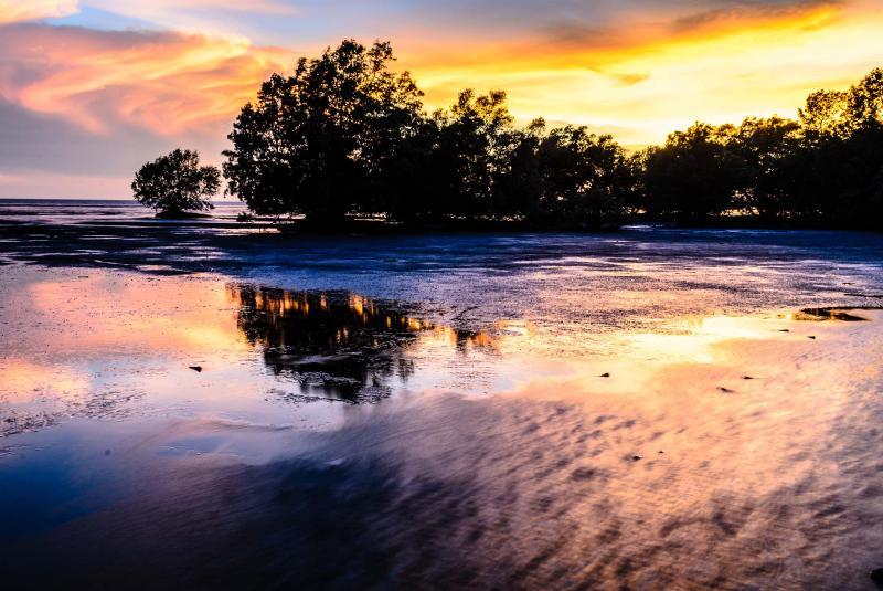 Sunset in Darwin, Northern Territory