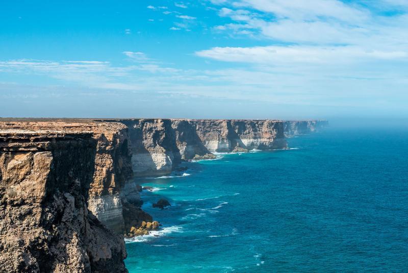 The Great Australian Bight Nullarbor Plain