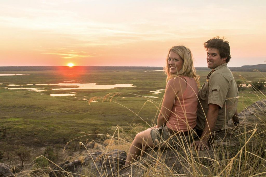Couple at Ubirr Rock, Kakadu, Northern Territory